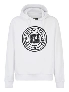 X Joshua Vides White and Black hoodie