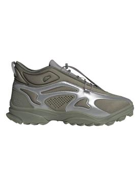 X 032c GSG TR Sneaker, Stone Green and Dove Grey