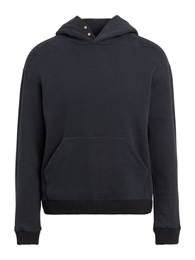 FEAROFGODZEGNA black slim-fit hoodie