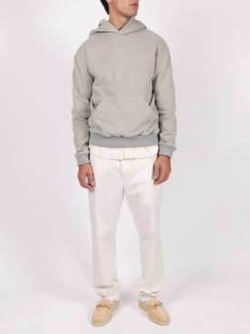 grey slim fit hoodie