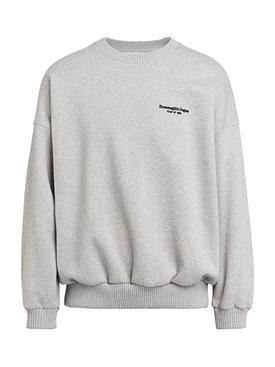 FEAROFGODZEGNA grey oversized sweatshirt