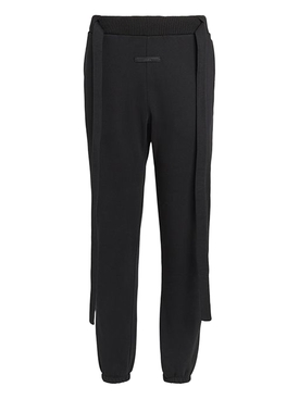 FEAROFGODZEGNA black wool jogger pants