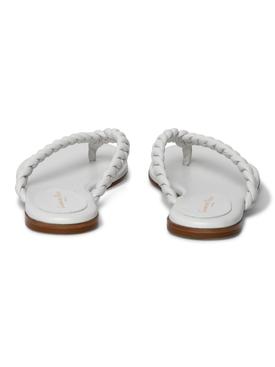 White Tropea sandal
