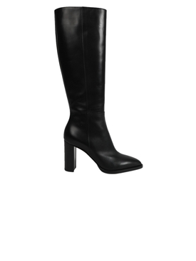 Knee-high boot, Black