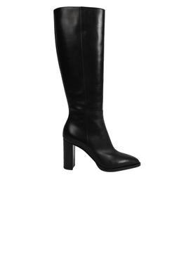 Knee-high boot, Black