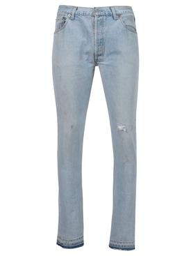 5001 Denim pants light blue