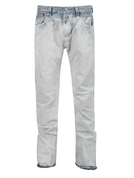 BLEACHED ARTIFACT FIT JEAN, WHITE