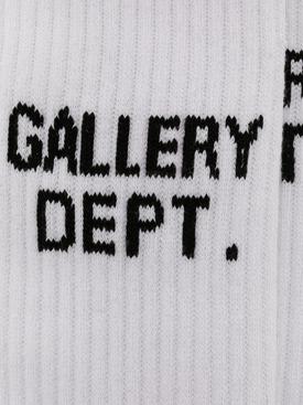 clean logo socks