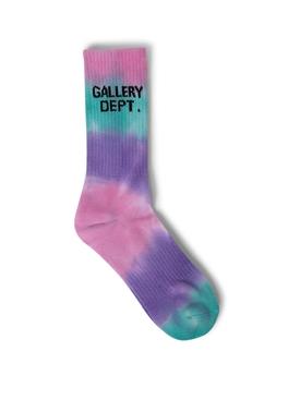 Tie-dye print Clean Socks