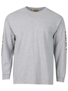 French Collector Long-sleeve T-shirt Grey