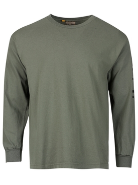 French Collector Long-sleeve T-shirt Olive