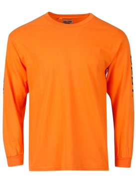 French Collector Long-sleeve T-shirt Orange