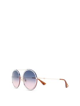 Flat Top Sunglasses Havana Brown