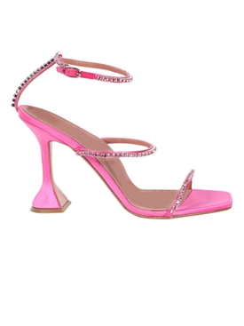 Gilda Satin Sandals Pink