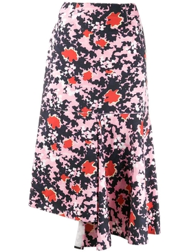 Marni - Pink & Black Midi Skirt - Women