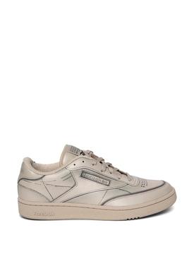 X Maison Margiela Project 0 CC TL Club Trompe L'oeil Sneaker Natural White