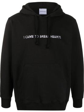 I CAME TO BREAK HEARTS HOODIE
