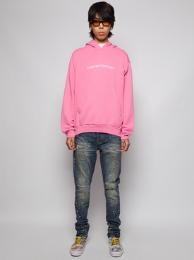FOREVER STARTS NOW HOODIE PINK