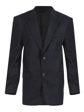 Single-breasted tailored blazer NAVY