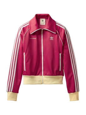 X WALES BONNER 70s STRIPED TRACK JACKET, PINK