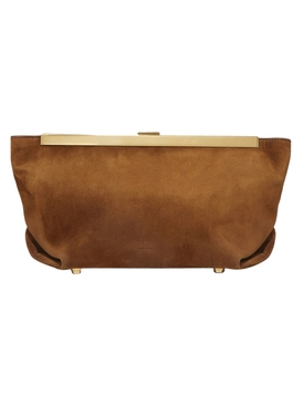 Aimee Leather Clutch