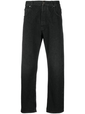Slim Denim Pants, Black