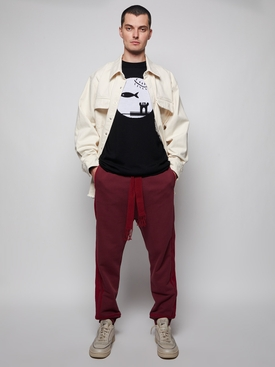 X Joe Brainard Fish Sweater Black