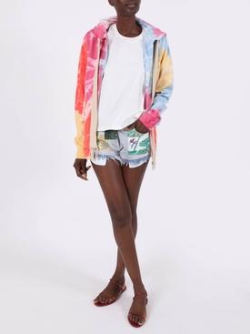 Paula's Ibiza Tie Dye Zip Hoodie