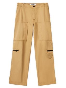 ELN Utility Cargo Pants Beige