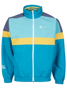 X Human Made Windbreaker Jacket Aqua