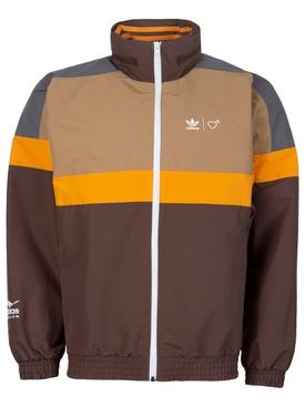 X Human Made Windbreaker Jacket Brown