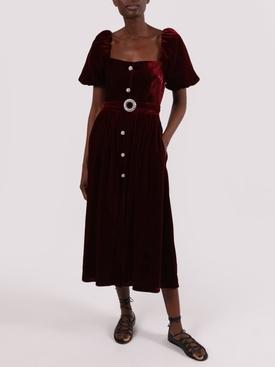 Wine Hazel dress