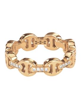 DAME TRI-LINK DIAMOND BRIDGES RING