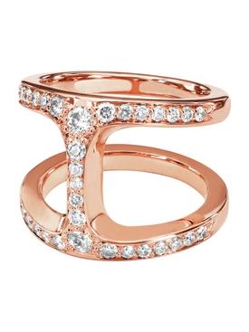 Dame Phantom Diamond Ring Rose Gold
