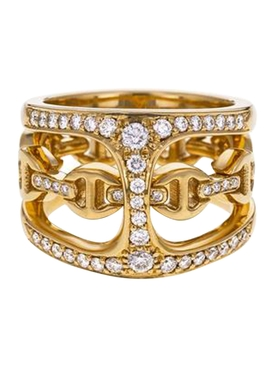Diamond Phantom Clique Ring
