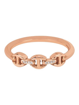 MICRO MAKERS DAME WITH DIAMOND BRIDGES Rose Gold