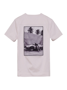 Heading South T-shirt, Lilac Marble