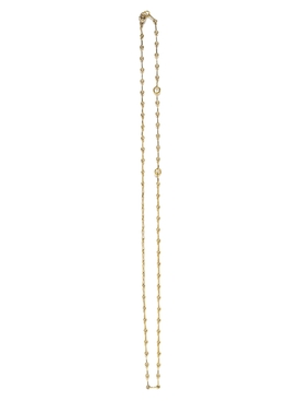 Azlee - 18kt Gold Small Circle Link Necklace - Women
