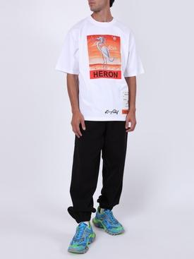 Classic bird logo t-shirt WHITE