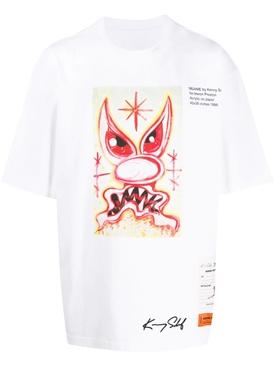 x Kenny Scharf Meanie t-shirt