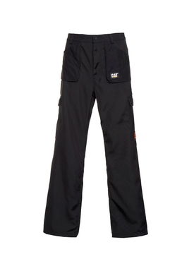 Black pocket cargo pants