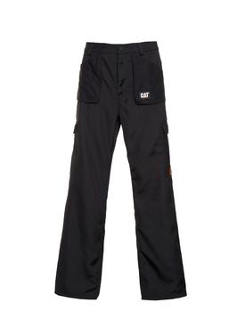 Black pocket cargo pants