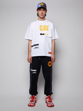 CAT logo graphic sweatpants