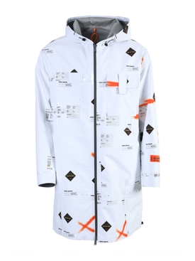 Heron Preston - White Gore-tex Logo Jacket - Men