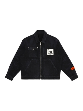 Worker Zip Jacket, Vintage Black
