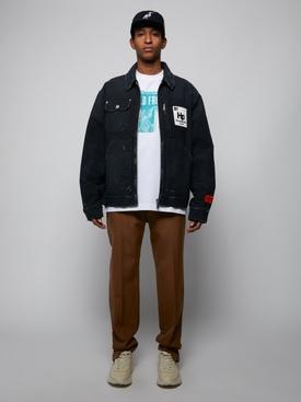 Worker Zip Jacket, Vintage Black