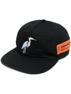 Heron Embroidered Baseball Cap