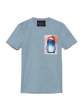 Hot Dog T-shirt, Ice Blue