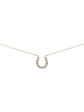 PEARL HORSESHOE NECKLACE
