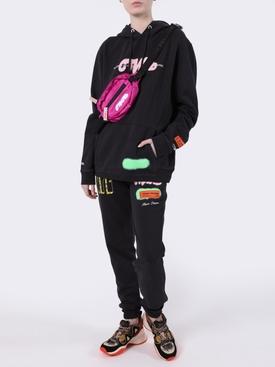Graffiti Spray hoodie black BLACK